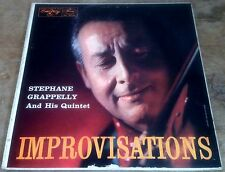 STEPHANE GRAPPELLY QUINTET improvisations 1957 US EMARCY MONO VINYL LP
