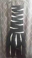 JESSICA McCLINTOCK Formal Prom Dress - Black/White Size 4