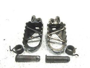 2001 Kawasaki KX65 Footpegs, Pegs, Foot Pegs, OEM, 01 KX 65 B4168