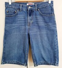 LEVI STRAUSS 505 Red Tab LEVI'S JEANS SHORTS W27 Size 14 Regular Pre-Owned Levis