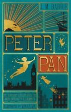 Peter Pan (Illustrated with Interactive Elements) by J. M. Barrie (2015, Hardcover)