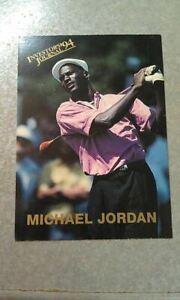 Michael Jordan Chicago Bulls 1994 Investor's Journal Golf Card #4 WOW Oddball