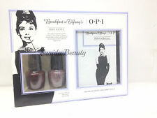 OPI Lacquer - LOVE NOTES Duo Kit - Breakfast At Tiffany's - Holiday Gift -HRH29