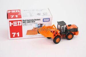 Takara Tomy Tomica #71 Hitachi Construction Wheel Loader 1/110 Diecast Toys Car