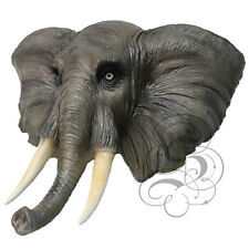 Latex Full Head Animal African Elephant High Quality Fancy Props Carnival Masks