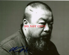 Ai Weiwei Chinese Artist Activist Signed Autograph 8x10 Photo Sunflower Seeds rp
