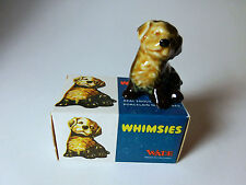 1970's WADE WHIMSIES Mongrel Dog #3 With Original England Box