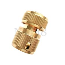 """1/2"""" QUICK RELEASE FAST FIT GARDEN TAP CONNECTOR ADAPTER WATERING HOSE BRASS NEW"""