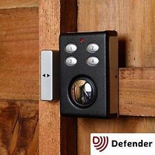 DEFENDER Security Allarme TASTIERA doppia funzione shock sensor magnetico porta contatto