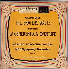 "ARTURO TOSCANINI! - ""THE SKATERS WALTZ""  RCA EP ERA-13 MONO 45 EXCELLENT!!"