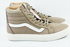 de92a57a57633a Vans SK8 Hi Cup Leather Mens Size 8 Skate Shoes Desert Tape blcdblc