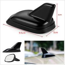 Universal Car Roof Top Shark Fin Antenna Dummy Aerial Decorative Antenna Black