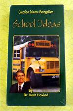 Dr. Kent Hovind Creation Science Evangelism - School Ideas ~ New VHS Video Movie