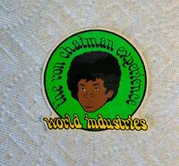 Details about  /Vintage skateboard sticker ron chatman world industries experience  blind NOS OJ
