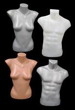 Schaufensterpuppe, Torso weiblich, männlich, Halb Torso,Torso, Deko, Büste