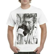 Tee-shirt Gainsbourg Appareil photo 100% coton tailles aux choix