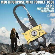 Outdoor Screwdrivers Wrench Tools Kit Pocket Multi 1 EDC Keychain in Survival 20
