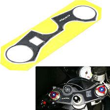 Adesivo 3D piastra manubrio sticker forcella moto pr Suzuki GSXR 750 GSXR750 FS1