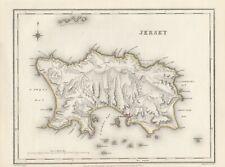 1845 map 'Jersey' by Richard Creighton