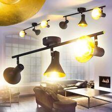Riflettore Nero Sala da pranzo Spot regolabili Luce Salone Illuminazione Salotto