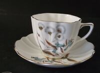OLD ROYAL BONE CHINA CABINET TEA CUP AND SAUCER