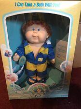 Vintage Cabbage Patch Kid Splashin' Kid- Boy With Auburn Fuzz Hair- NIB