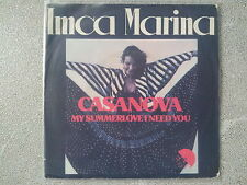 Imca Marina - Casanova/ My summerlove I need you 7'' Single SUNG IN ENGLISH
