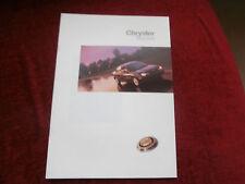 Chrysler Neon 1999-2000 UK Sales Brochure 1.8 le.2.0glx. Collectors condition...