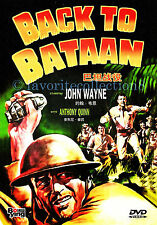 Back to Bataan (1945) - John Wayne, Anthony Quinn - DVD NEW