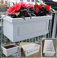 Portavasi da giardino decorativi ebay for Portavasi da balcone regolabili