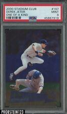 2000 Stadium Club #197 One of a Kind Derek Jeter #/150 PSA 9 HOF Yankees