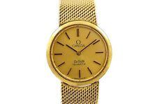 Vintage Omega De Ville Cal.1350 Quartz Gold Plated Ladies Watch 1471