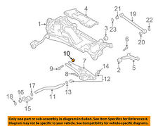 VOLVO OEM 91-95 940 Rear Suspension-Torsion Rod Nut 985870