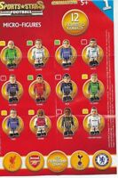 SPORTS STARS FOOTBALL MICRO FIGURES MINI FIGURES SERIES ONE :CHOOSE