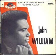 JOHN WILLIAM  ESMERALDA 45T EP BIEM POLYDOR 20.886 N°2