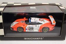 Minichamps 911 GT1 24H LeMans 1997 Jolly J-B Ferte Thevenin Gartzen 1:43 NEU 29