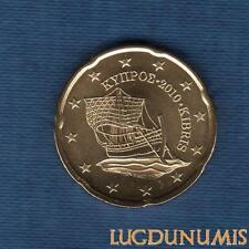 Chypre 2010 20 Centimes D'Euro SUP SPL Pièce neuve de rouleau - Cyprus