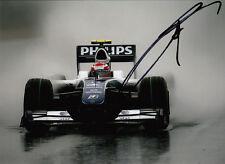 Kazuki Nakajima mano firmado AT&T Williams F1 Foto 7x5 6.