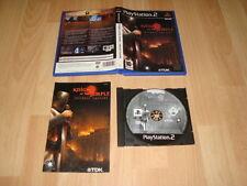 KNIGHTS OF THE TEMPLE INFERNAL CRUSADE DE TDK PARA LA SONY PS2 USADO COMPLETO