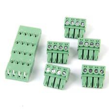 5pcs 4pin Bornier a Vis Connecteur PCB Mont DT WT