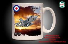 Avión Tornado GR4 RAF Personalizado Taza Taza Papá Regalo-Añadir Nombre Personalizado