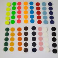50 iron on transfer 10mm circles,spots,ideal for children in need and costumes