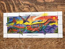 St Vincent 1994 Prehistoric Animals, Dinosaurs Minisheet MNH