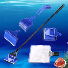 US_ Practical Aquarium Plant Algae Cleaner Glass Fish Tank Clean Cleaning Brush