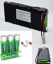 Paquete Batería para control de persinas idéntica ZU roto ZEL 12v 2100mah NiMH