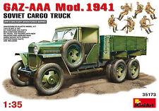MiniArt 1/35 35173 WWII Soviet GAZ-AAA Model.1941 Cargo Truck (w/7 Figures)