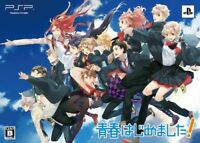 PSP SEISHUN HAJIMEMASHITA! Limited Edition Japan Game Japanese