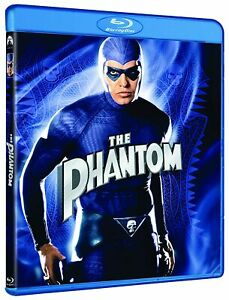 The PHANTOM (1996) BLU RAY Billy Zane Catherine Zeta Jones  New & Sealed