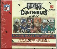 2007 Playoff Contenders Football Factory Sealed Hobby Box