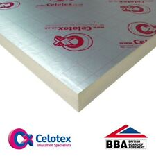 Brand new:100mm Ecotherm/celotex insulation sheets (500available)